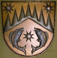 Forged wall emblems